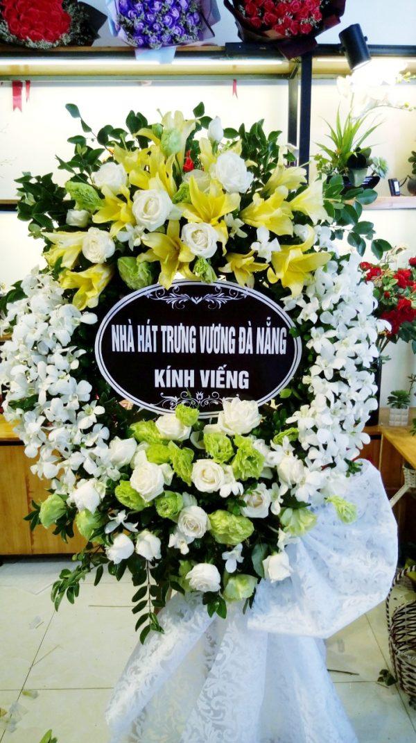 hoa chia buồn viếng đám tang ở nam định